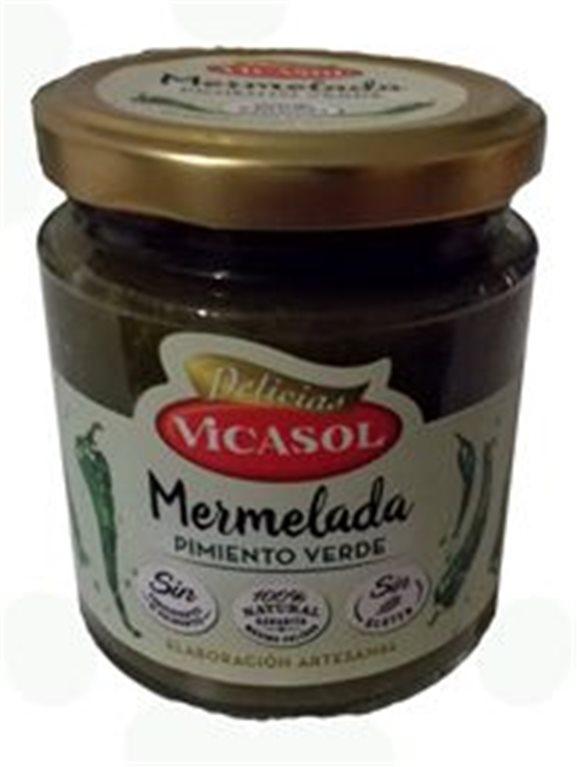 Mermelada de pimiento verde, 1 ud