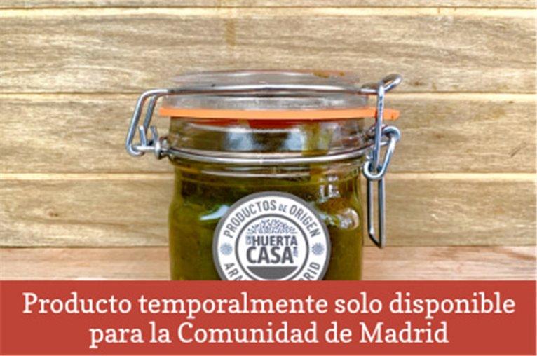 Mermelada de pimientos verdes (310gr)