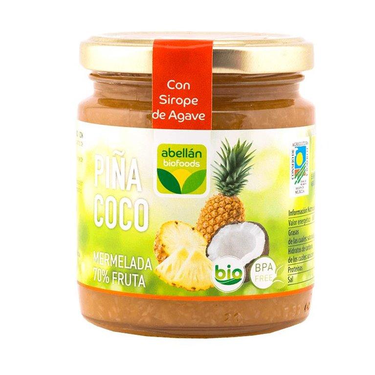 Mermelada de Piña y Coco (con sirope de agave)