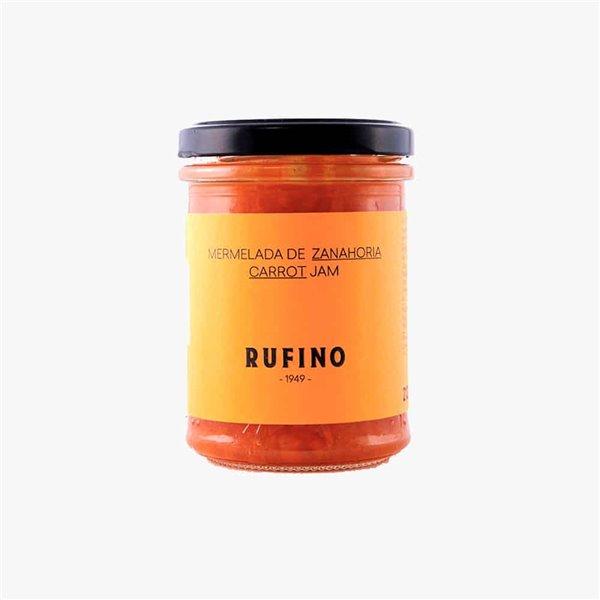 Mermelada de zanahoria Rufino 212g