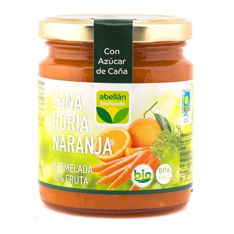 Mermelada de Zanahoria y Naranja (con azúcar de caña)