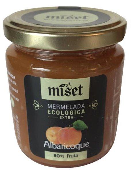"Mermelada ecológica extra de albaricoque ""Miset"""