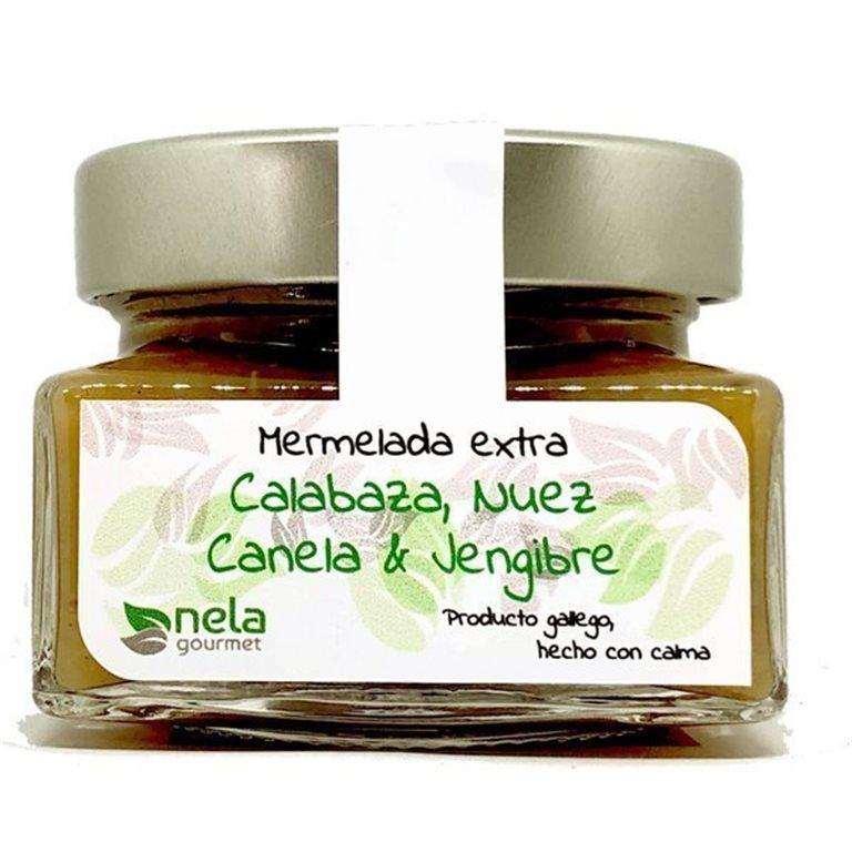 Mermelada Extra de Calabaza,Nuez, Canela & Jengibre