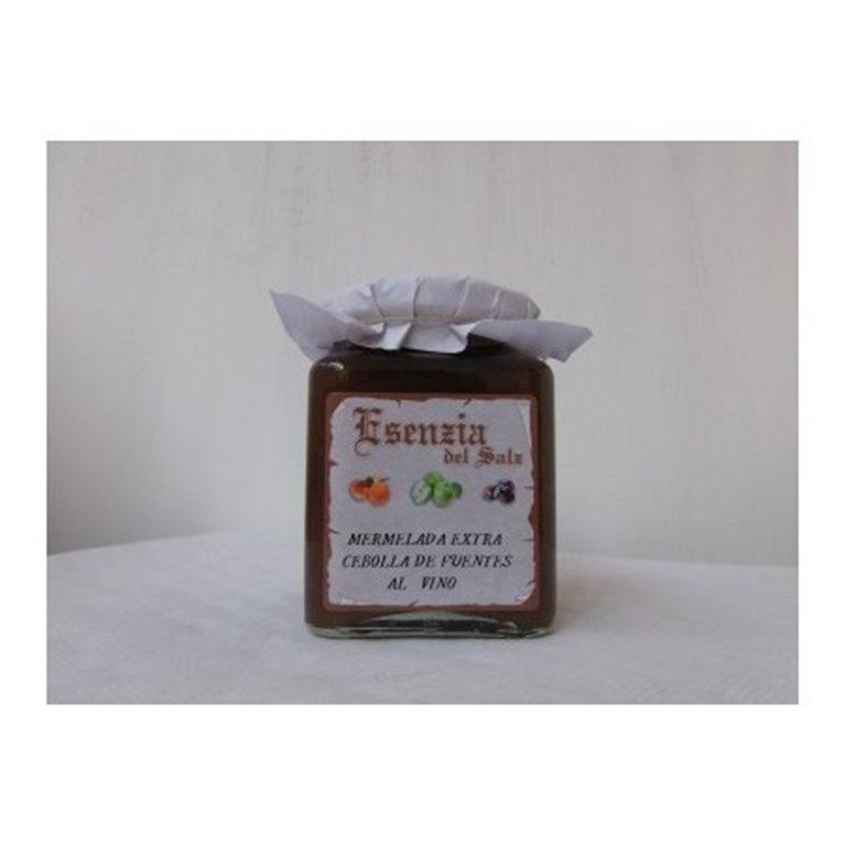 Mermelada Extra de Cebolla de Fuentes al Vino Esenzia del Salz, 1 ud