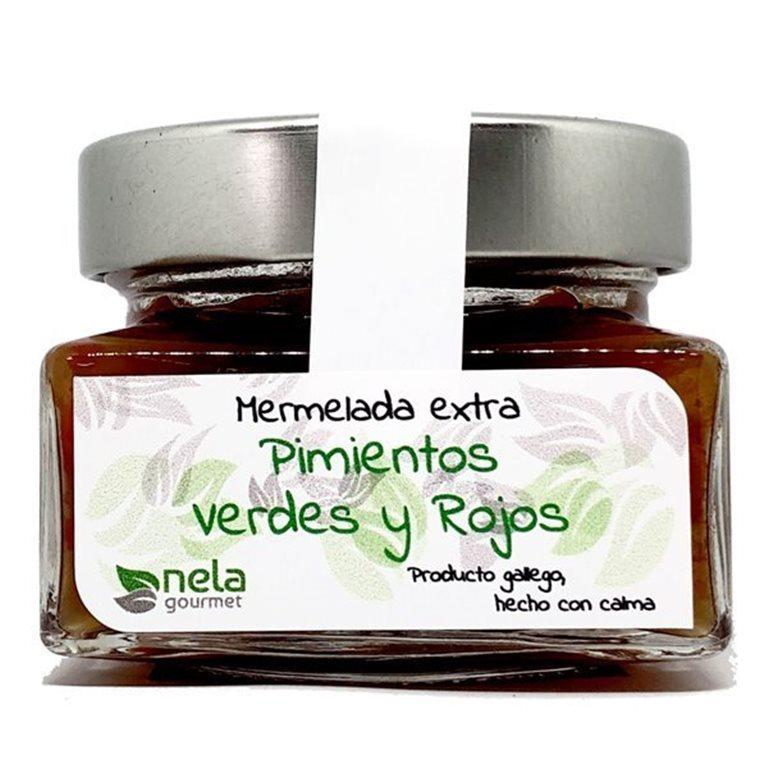 Mermelada Extra de Pimientos Verdes & Rojos