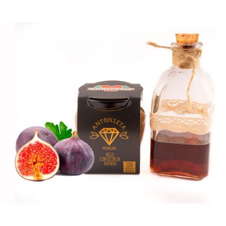 Mermelada Gourmet Higo negro con Licor de Ratafia