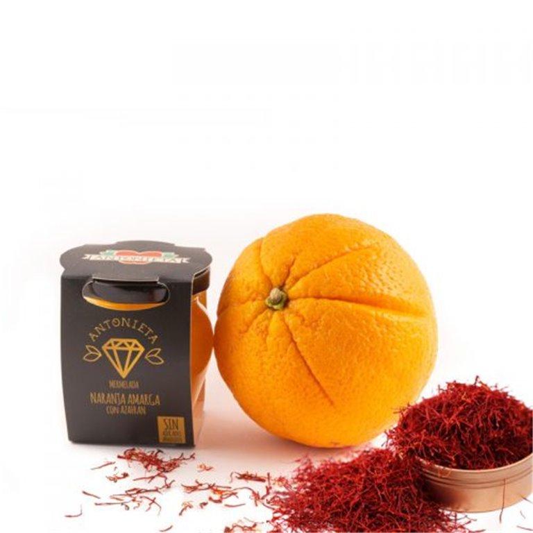 Mermelada Gourmet Naranja Amarga con Azafrán