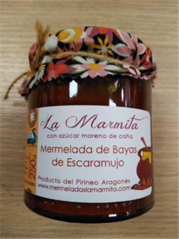 Mermelada La Marmita Bayas de Escaramujo, 1 ud