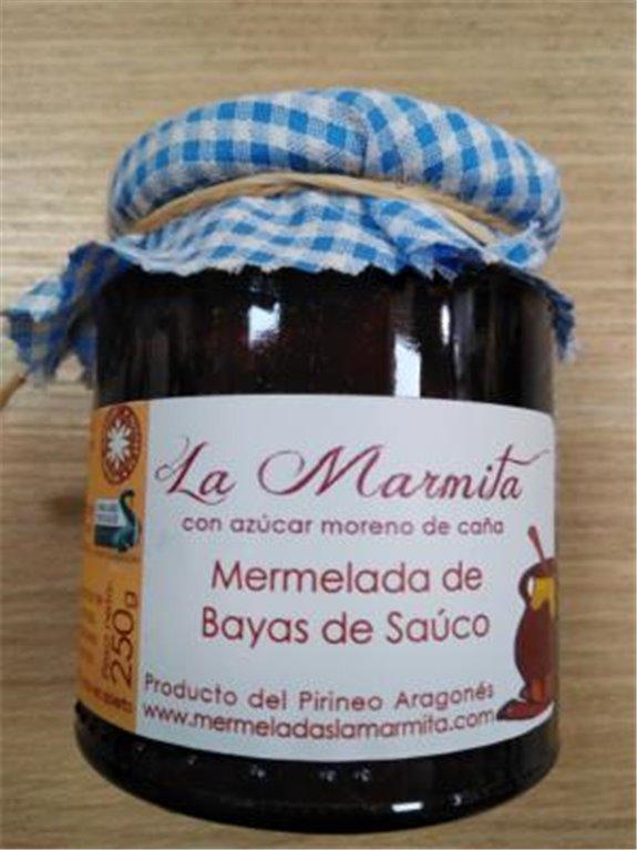 Mermelada La Marmita Bayas de Sauco, 1 ud