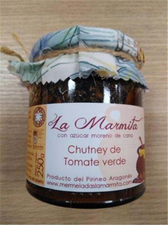 Mermelada La Marmita Chutney de tomate verde, 1 ud