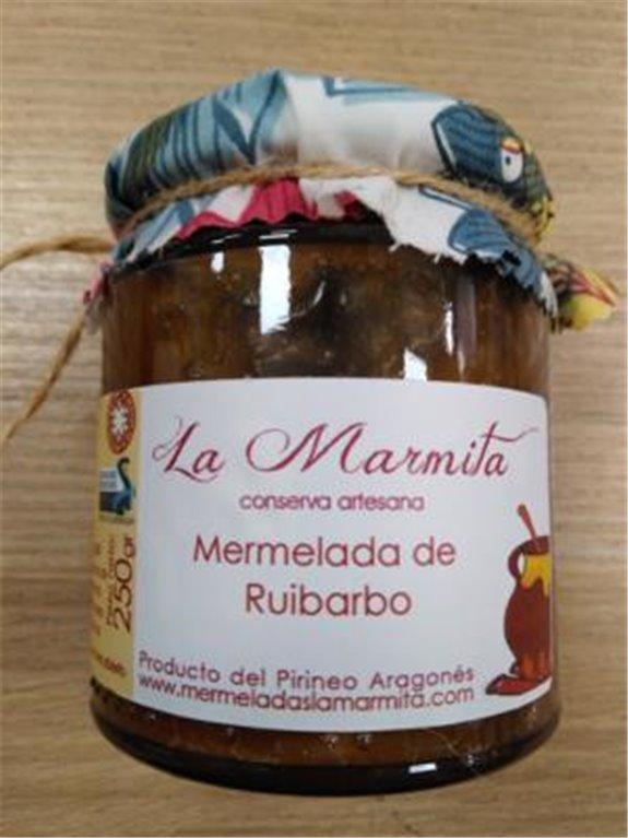 Mermelada La Marmita de Ruibarbo, 1 ud
