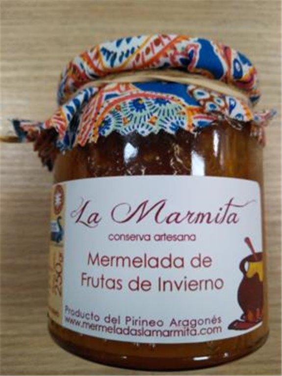 Mermelada La Marmita Frutas de invierno, 1 ud