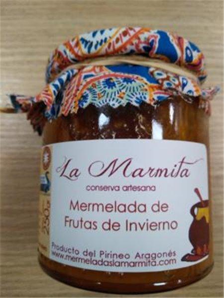 Mermelada La Marmita Frutas de invierno