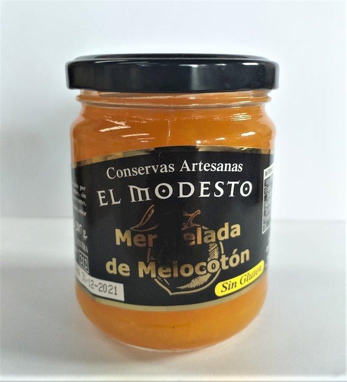 Mermelada Melocotón El Modesto T/C 212 gr