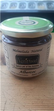 Mermelada natural de albaricoque, 360 gr