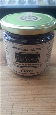 Mermelada natural de cereza, 360 gr