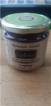 Mermelada natural de membrillo, 360 gr