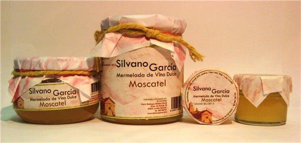 Mermelada  Vino Moscatel 250ml Silvano García