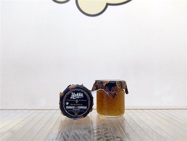 Mermelada Yakka de Cerveza YAPALE con lúpulo 40 gr