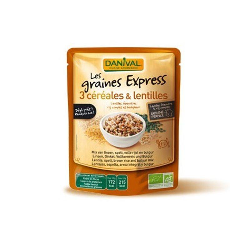 Mezcla 3 Cereales Con Lentejas, 1 ud