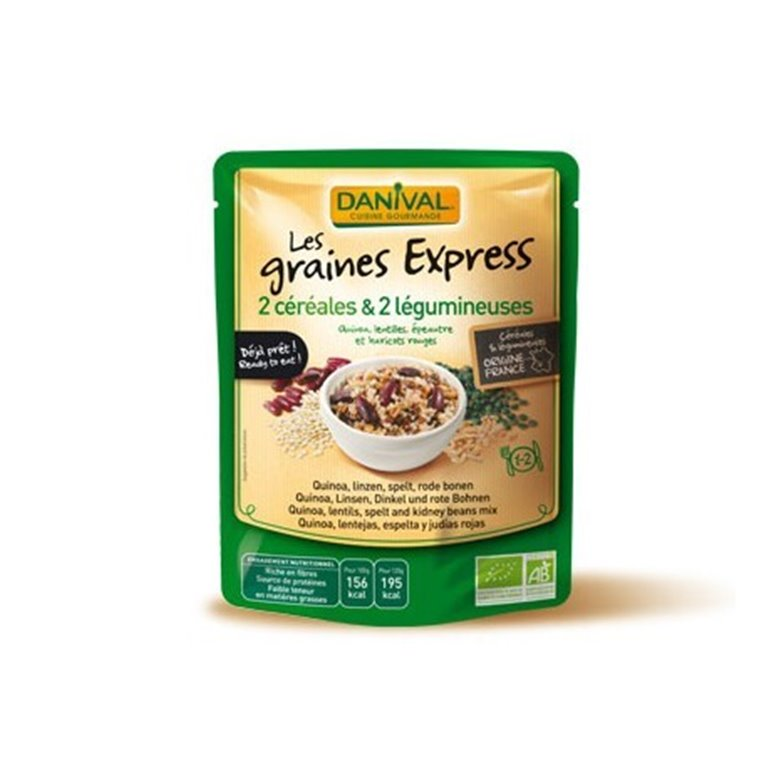 Mezcla 4 Cereales Cocinados, 1 ud