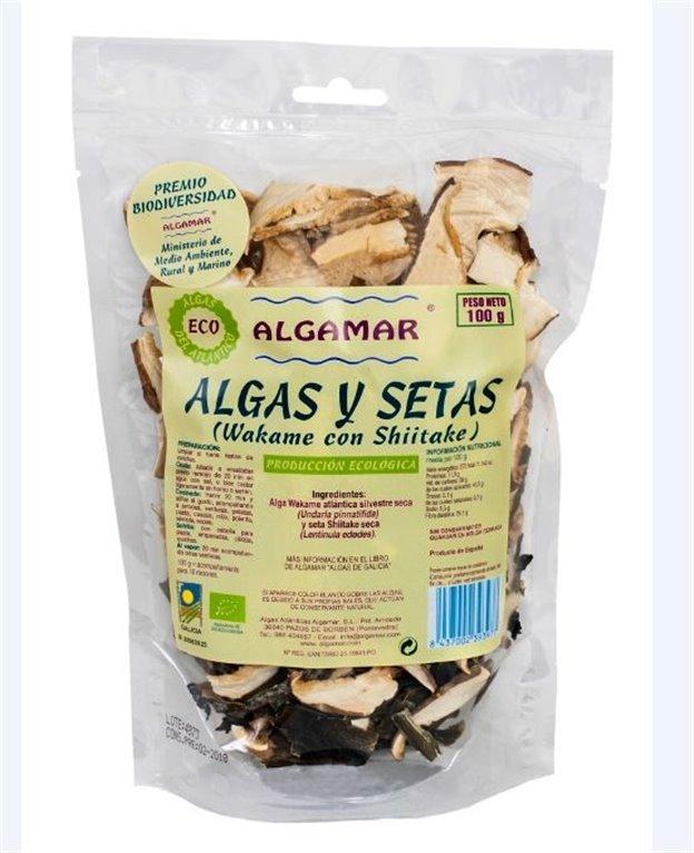 Mezcla Algas y Setas Deshidratadas Bio 100g