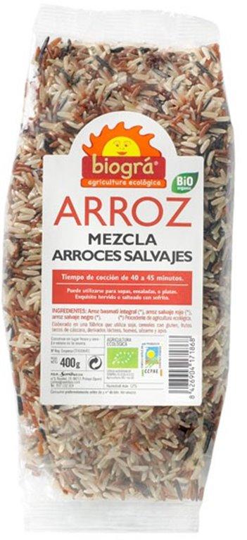 Mezcla Arroces Salvajes Bio 400g, 1 ud
