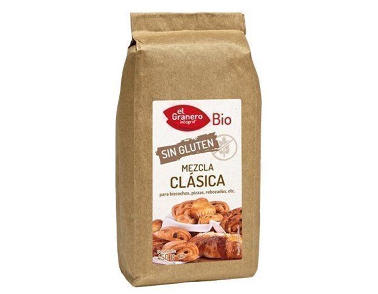 Mezcla clásica sin gluten repostería, 450 gr