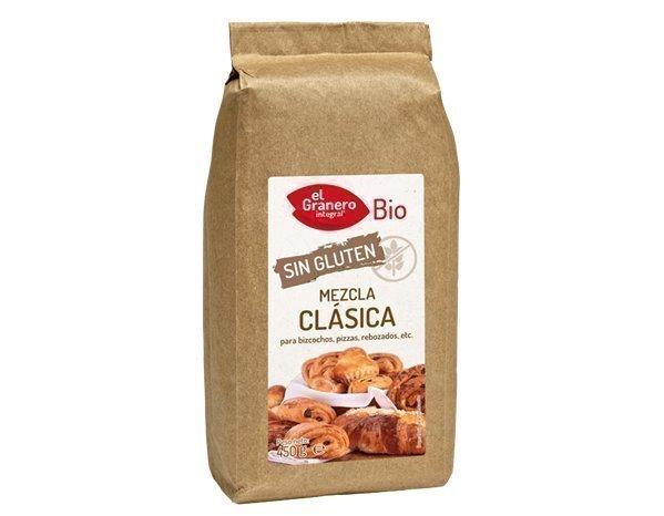 Mezcla clásica sin gluten repostería