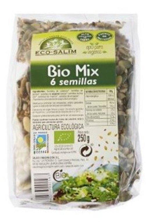 Mezcla de 6 Semillas Bio 250g, 1 ud