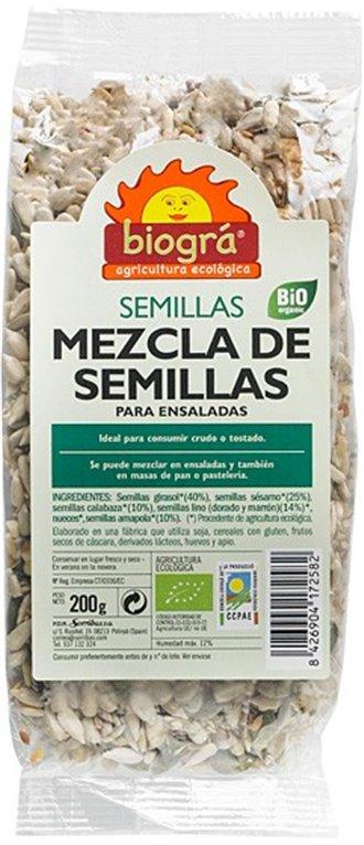 Mezcla de Semillas (Para Ensaladas) Bio 200g, 1 ud