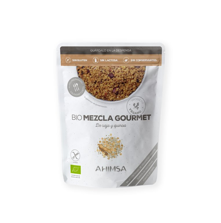 Mezcla Gourmet de Soja y Quinoa Bio Ahimsa, 250 gr