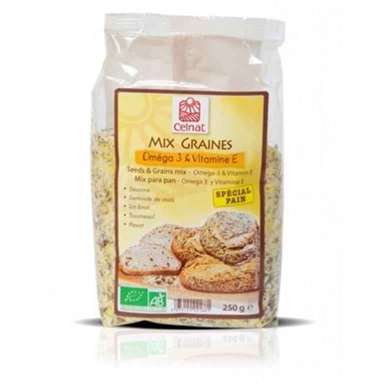 Mezcla granos Omega 3 + Vitamina E, 1 ud