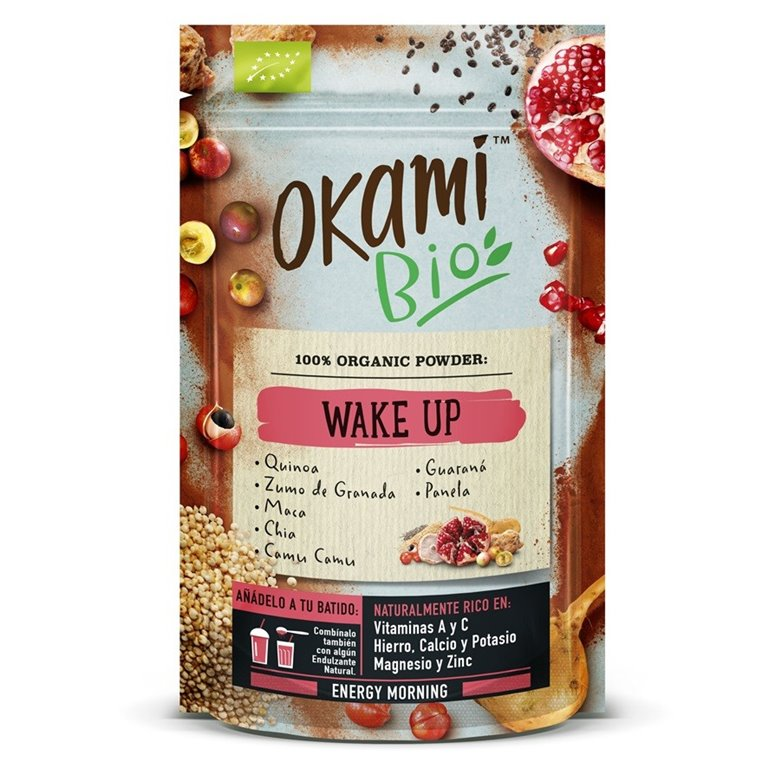 Mezcla Wake Up en Polvo Bio 200g