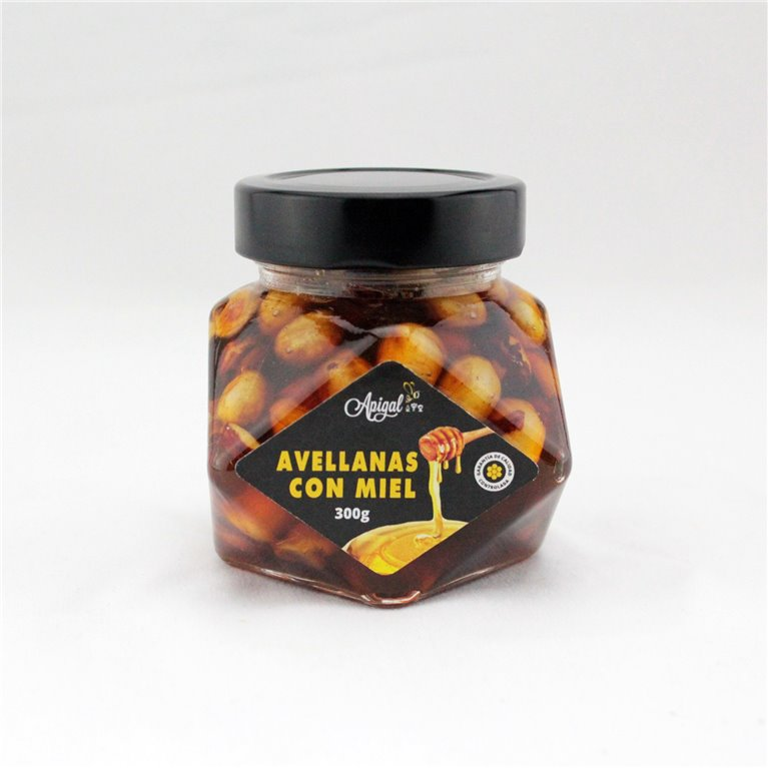 Miel con avellanas Premium 300g Diamante