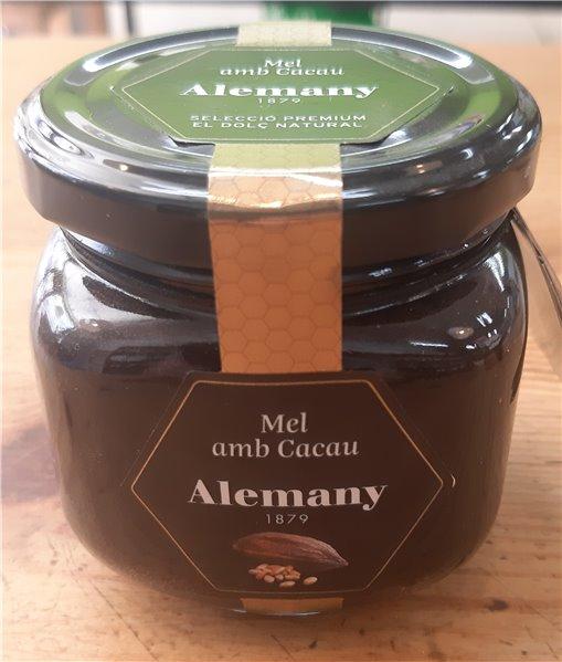 Miel con cacao