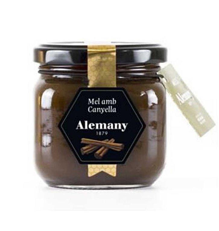Honey with cinnamon Alemany 250g