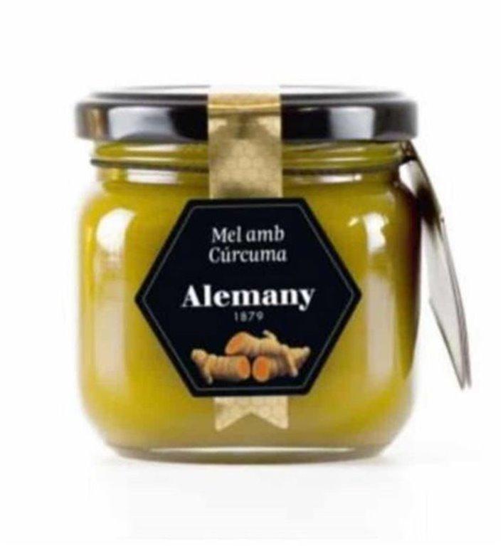 Honey with turmeric Alemany 250g