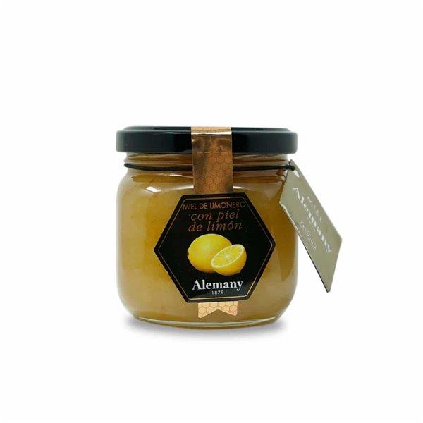 Miel con Piel de Limón 250g Alemany