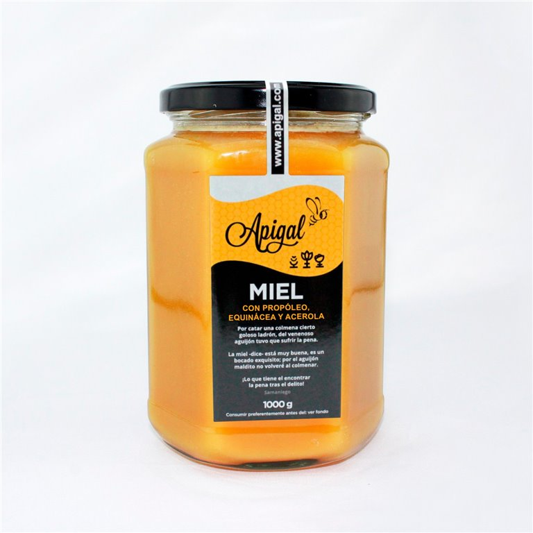 Honey with propolis 1kg