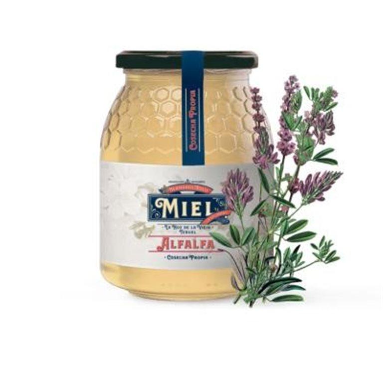 Miel de alfalfa Hermanos Polo