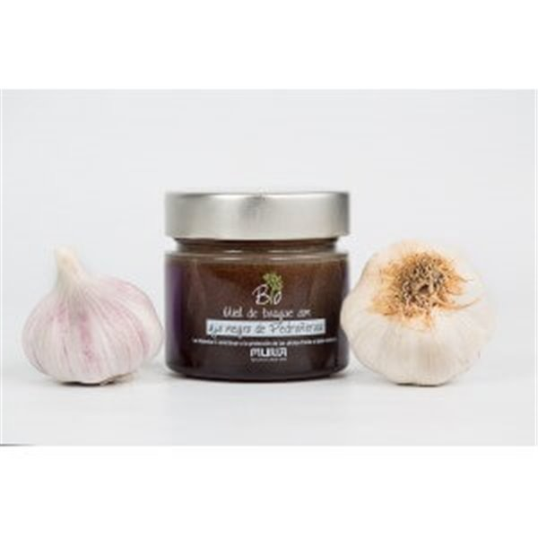 Miel de bosque con ajo negro