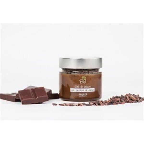 Miel de bosque con pepitas de cacao