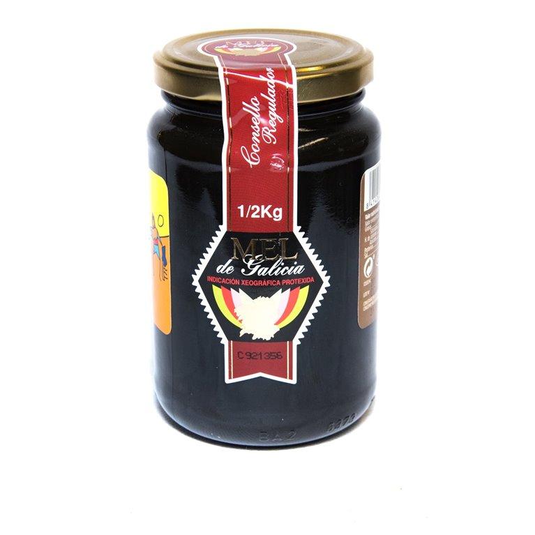 Miel de castaño 500g, 1 ud