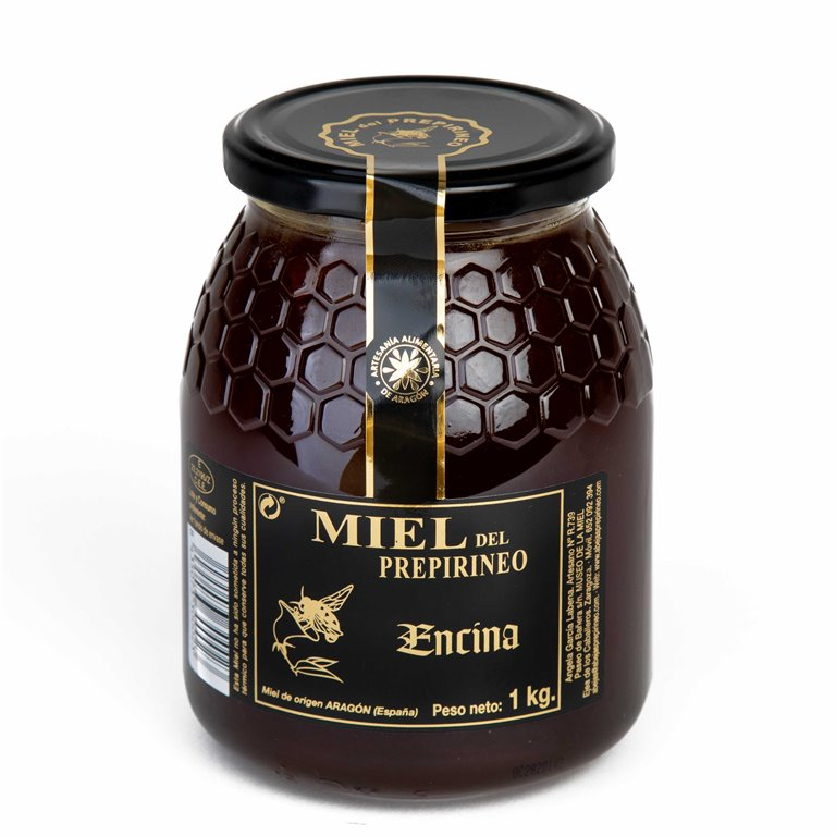 Holm oak honey from the Pre-Pyrenees 1kg