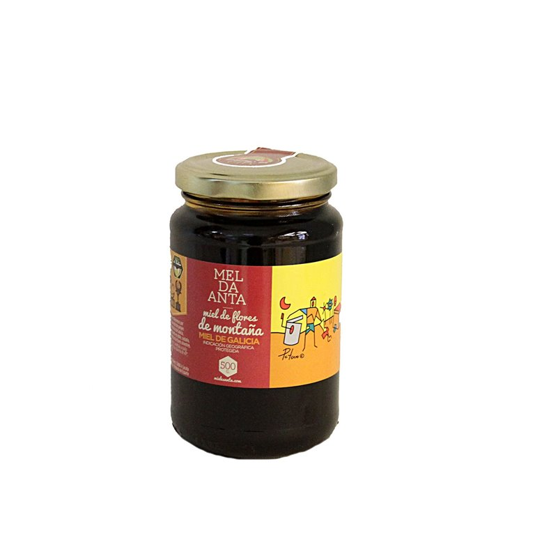 Miel de flores 500g, 1 ud
