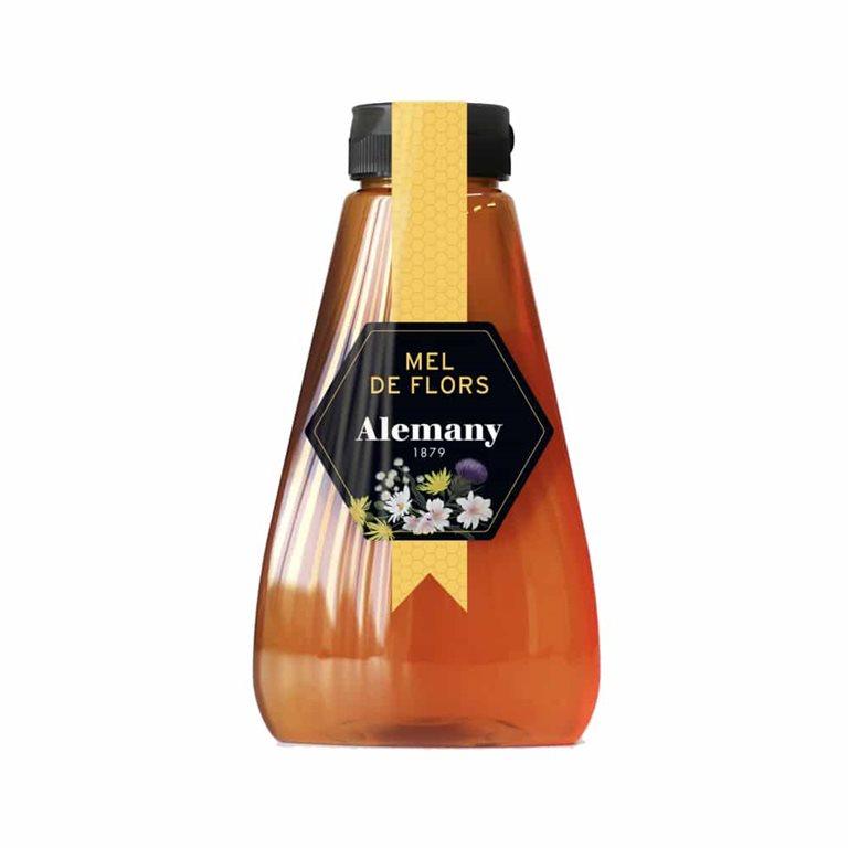 Miel de Flores Antigoteo 350g Alemany