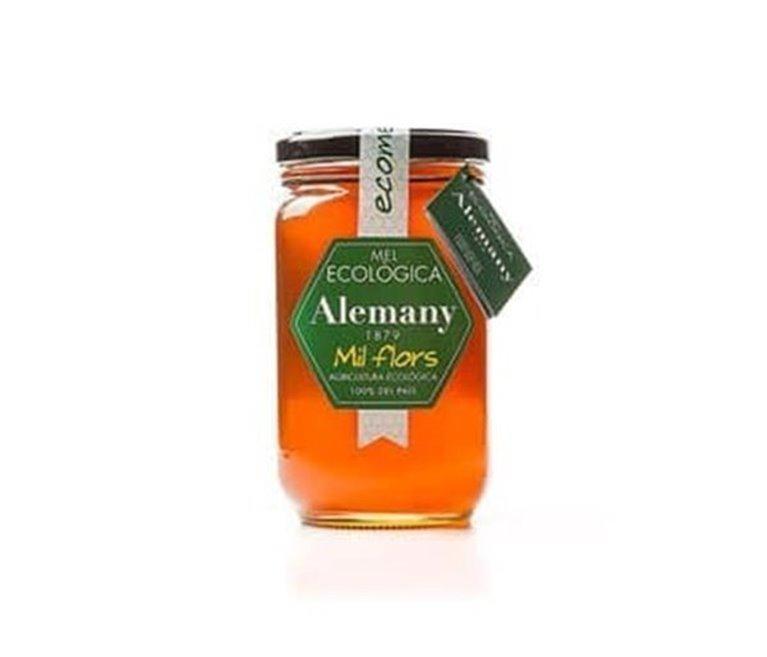 Alemany organic flower honey 500g