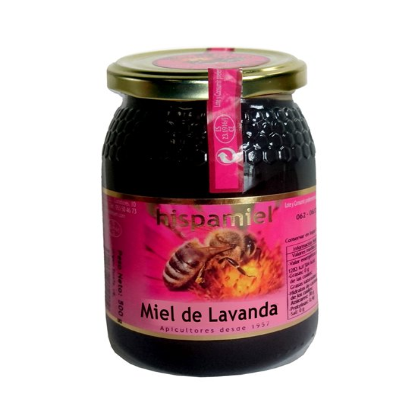 Miel de Lavanda. 500 gr.