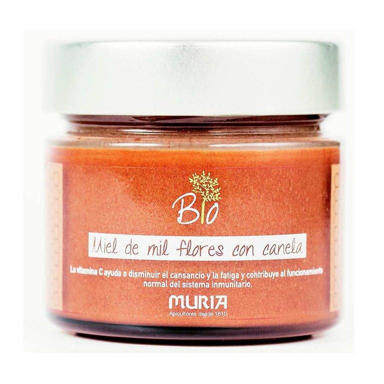 Miel de Mil Flores con Canela Bio 250g